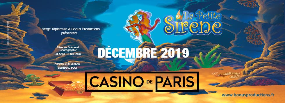 La petite sirène au Casino de Paris